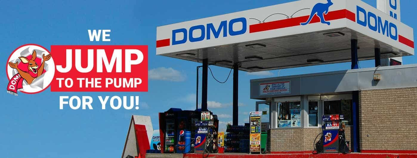 Domo Gasoline Corporation Ltd  – We Jump To The Pump For You!
